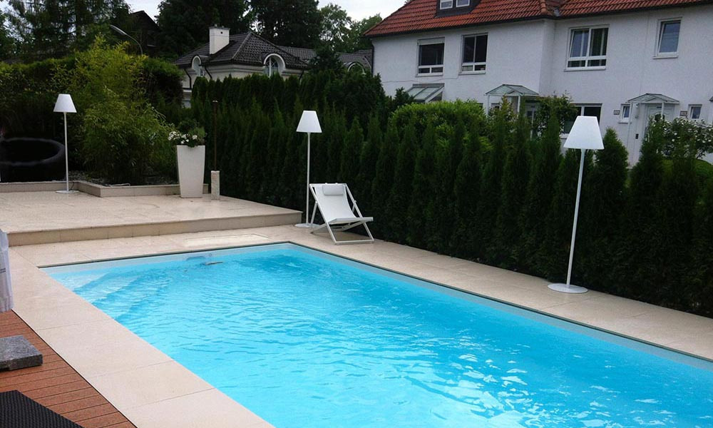 Pool im Garten Hamburg