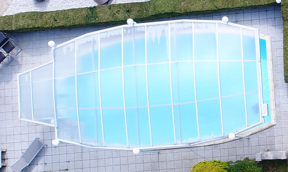 Pool mit Überdachung Wien