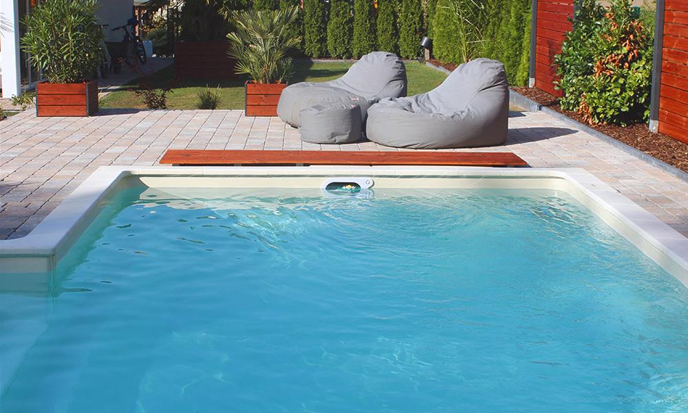 Schwimmbecken Bielefeld mit Desjoyaux Poolfilter