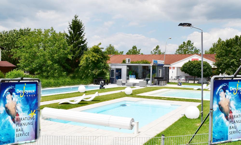 Swimmingpool Ausstellung St. Pölten / Wien / Linz