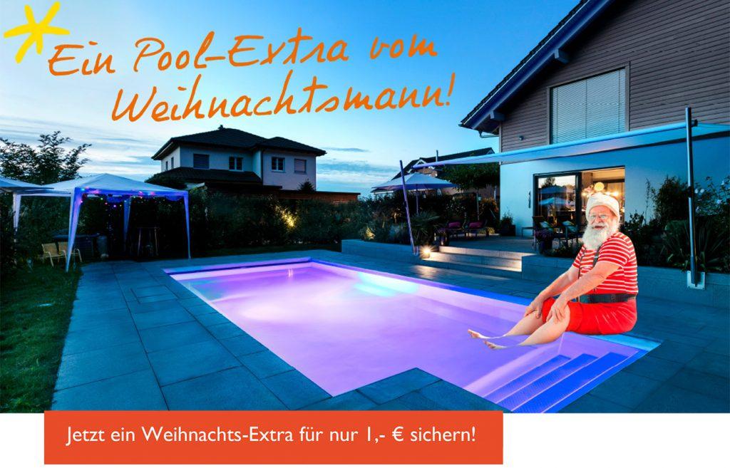 Pool-Extra Aktion zu Weihnachten