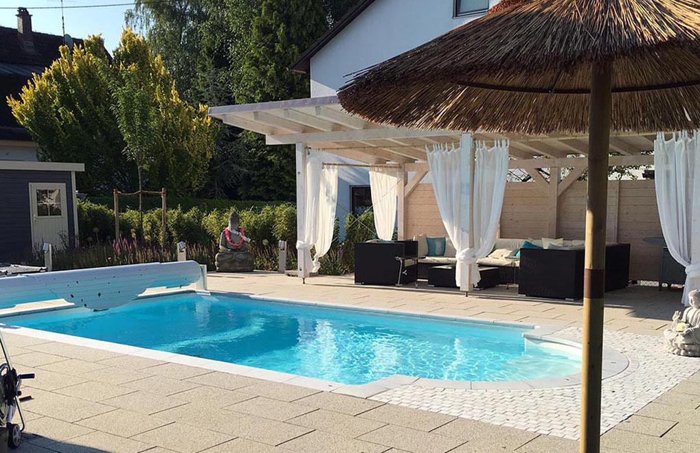 Terrasse mit Pool Desjoyaux Raum Hannover / Hildesheim