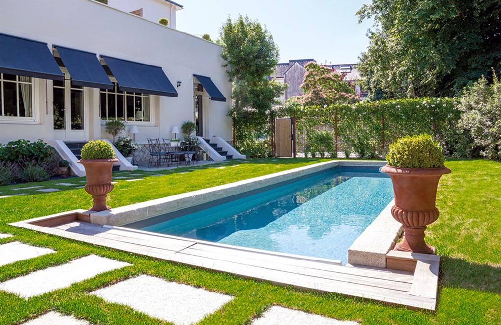 Pool im eigenen Garten Untereggen