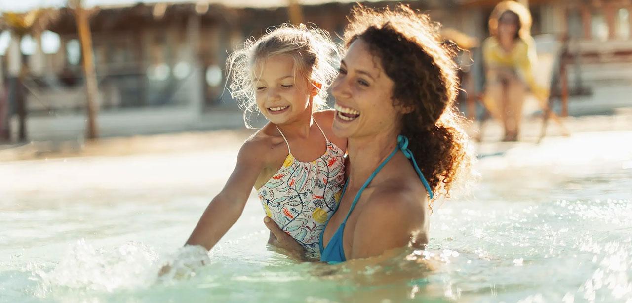 Pool für Familie, Kinder und Freunde